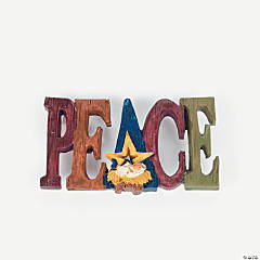 """Peace"" Inspirational Pin"