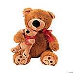 Plush Big Bear & Friend