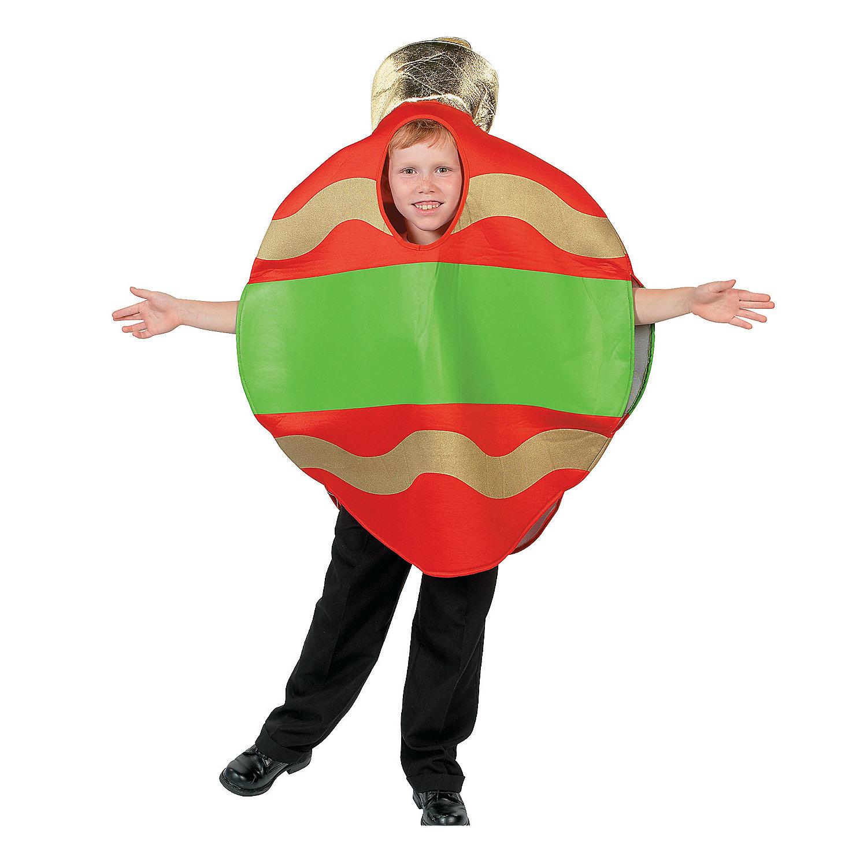 Christmas ornament child costume oriental trading