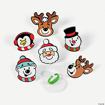 Holiday Character Rings