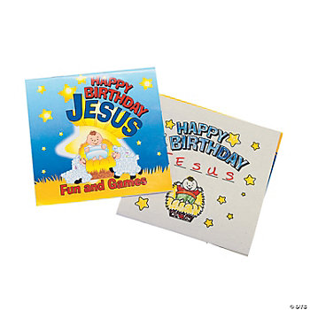 """Happy Birthday Jesus"" Fun & Games Activity Books"