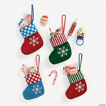 Christmas Stockings With Candy