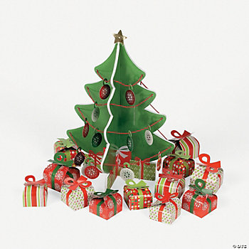 3D Christmas Tree Centerpiece