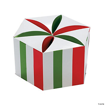 3D Peppermint Disk Gift Boxes