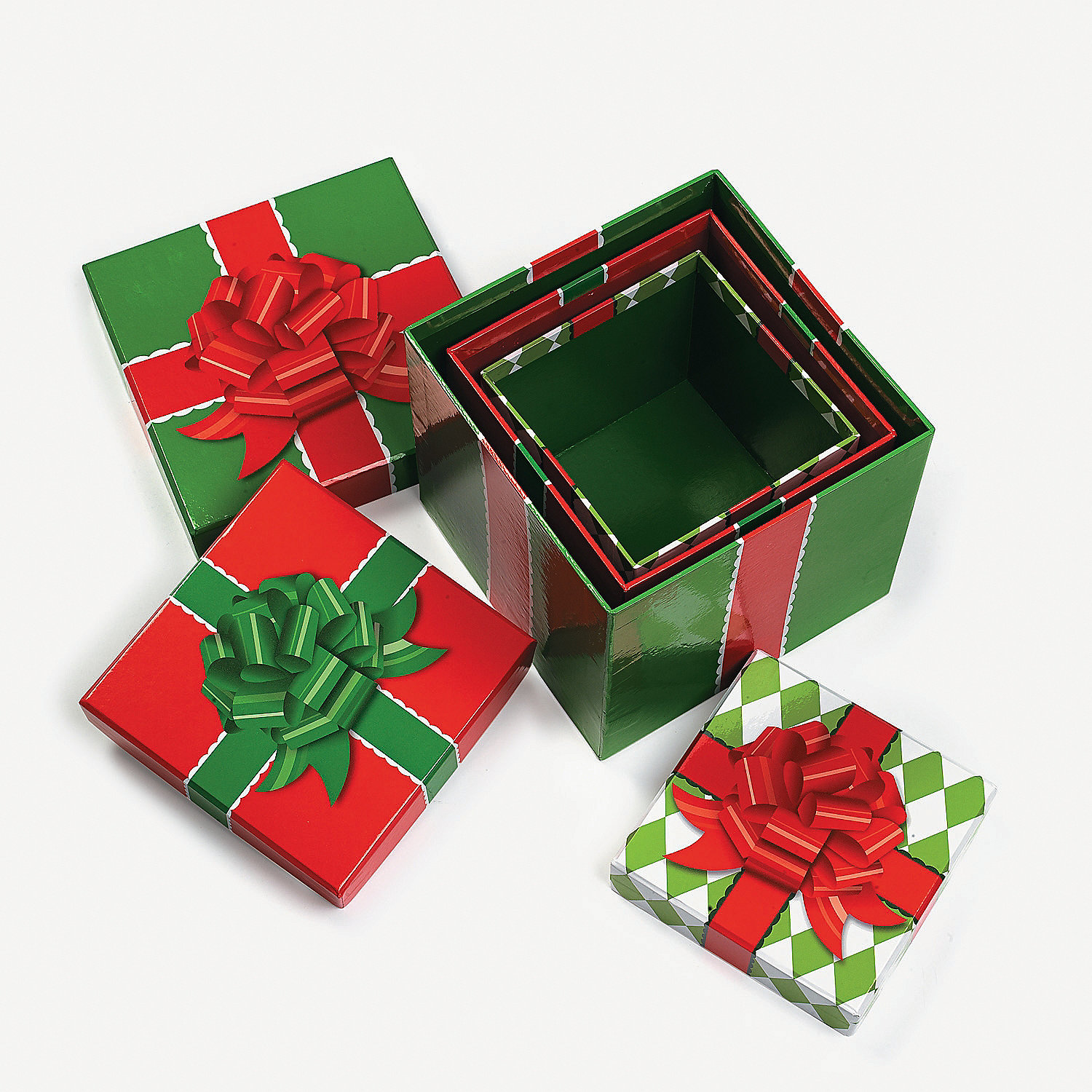 Stackable present boxes oriental trading discontinued