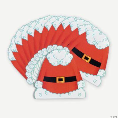 Santa-Shaped Napkins