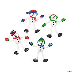 Snowman Bendables