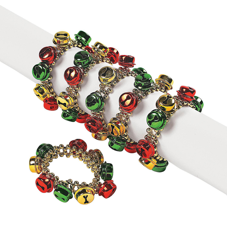 jingle bell beaded bracelets trading