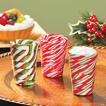 Mini Hard Candy Swirl Cups