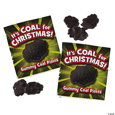 Gummy Coal Fun Packs