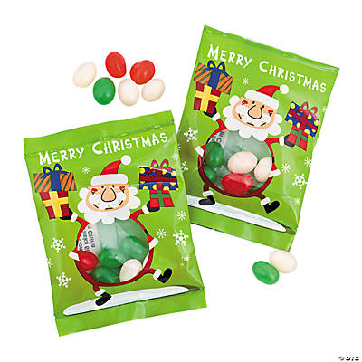 Santa Claus Jelly Bean Packs