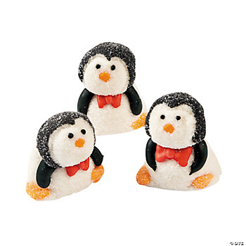 Christmas Marshmallow Penguins