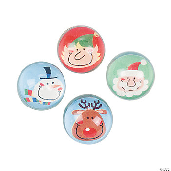 Holiday Character Bouncing Balls