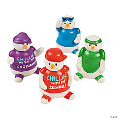 """Chillin' With My Snowmies"" Snowmen"