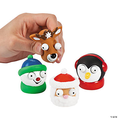 Holiday Characters with Putty Eyes
