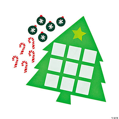 Christmas Tree Tic-Tac-Toe Games