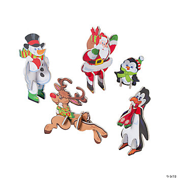Holiday 3D Character Puzzles