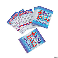 """Bible Trivia"" Card Game"