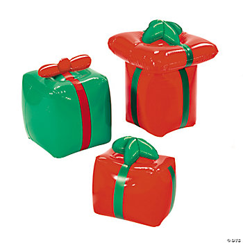 Inflatable Wrapped Christmas Gifts