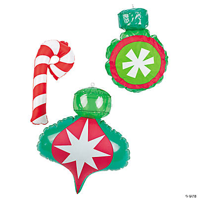 Inflatable Christmas Ornament Decorations