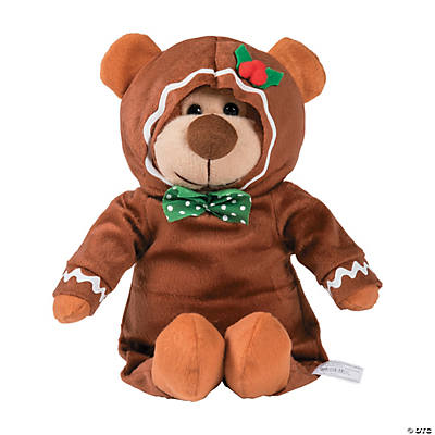 Plush Gingerbread Bear
