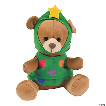 Plush Christmas Tree Bear