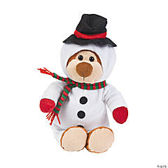 Snowman Stuffed Bear
