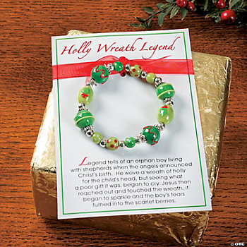 Legend Of The Christmas Wreath Bracelets