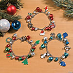 Holiday Charm Bracelets