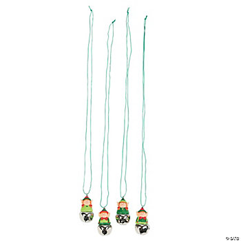 Elf Jingle Bell Necklaces