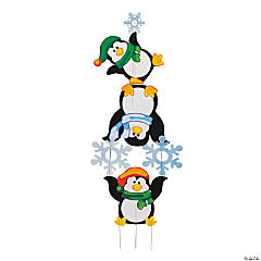 Penguin Yard Décor Set