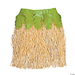 Hula Skirt with Palm Leaves