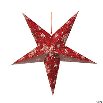 Jumbo 3D Holiday Hanging Stars