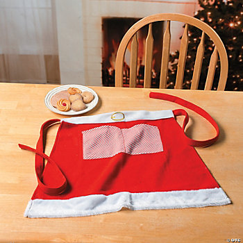 Mrs. Claus Adult Waist Apron