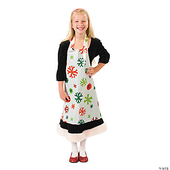 Kids' Christmas Aprons