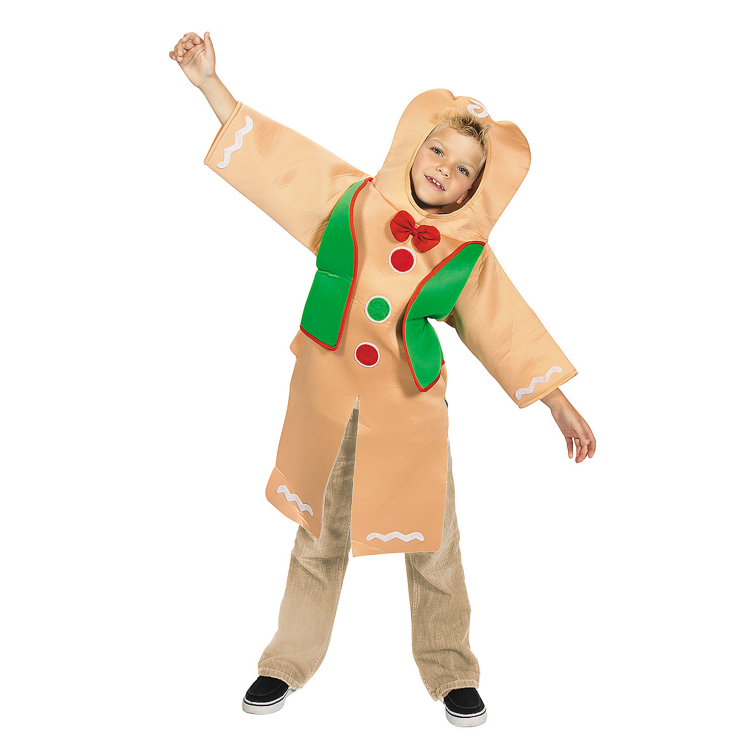Gingerbread costume in 4 5348 gingerbread costume slip it on over your