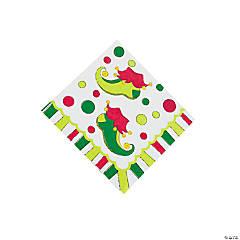 Elf Beverage Napkins
