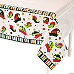 Elf Plastic Table Cover