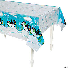 Penguin Party Tablecloth