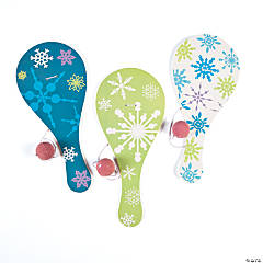 Winter Paddleballs