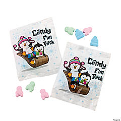 Christmas Penguin Candy Fun Packs