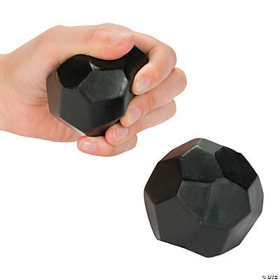 Lump of Coal Stress Balls