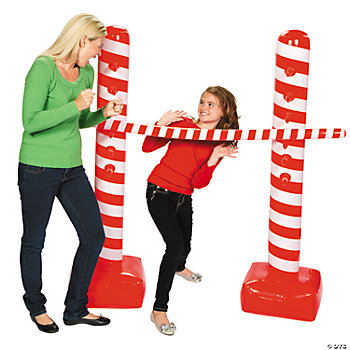 Inflatable Candy Cane Limbo Kit