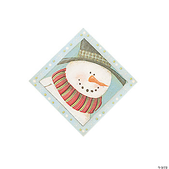 St. Nick Tidings Beverage Napkins