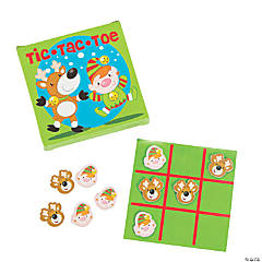 Holiday Tic-Tac-Toe Games