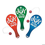 """Joy To the World!"" Paddleball Games"