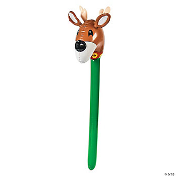 Inflatable Stick Reindeer