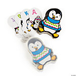 Penguin-Shaped Playing Cards