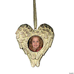 Heart-Shaped Angel Wings Photo Frames