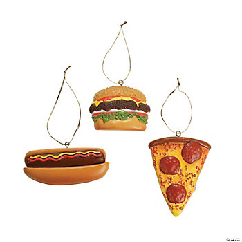 Fast Food Ornaments